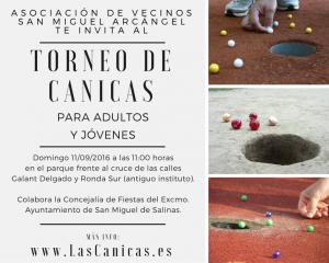 Vecinos de San Miguel organizan el I Torneo de Canicas