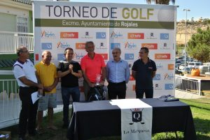 Más de un centenar de jugadores participan en el III Torneo de Golf 'Ayuntamiento de Rojales'