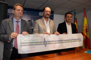 Orihuela recibe 800.000 euros para remodelar el paseo de Los Andenes
