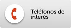 teléfonos de interes