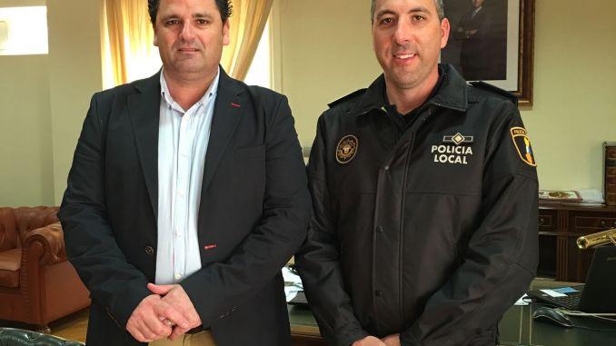 Jose Cristian Cañizares y alcalde Dolores