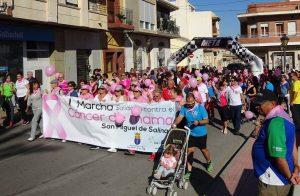 Marchando contra el cáncer