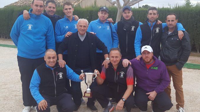 CP Almoradí campeones liga provincial
