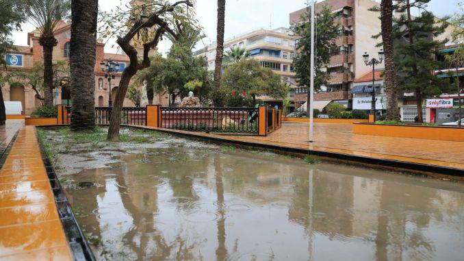 lluvia en Torrevieja p mastral