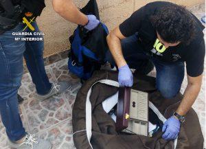 La Guardia Civil desarticula una  organización criminal que cometía atracos violentos en Orihuela