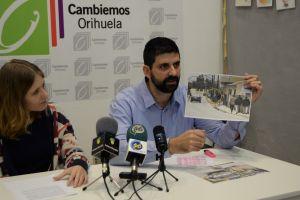 Cambiemos presenta once propuestas para mejorar la movilidad accesible en Orihuela