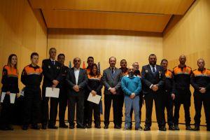 Orihuela distingue a los miembros de Protección Civil