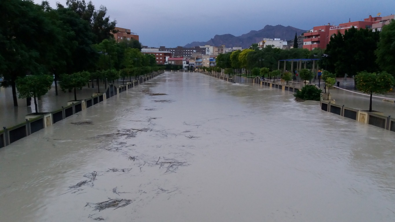 barrio san pedro inundado
