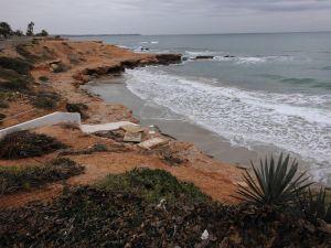 Pilar de la Horadada valora en más de medio millón de euros los daños producidos por el temporal