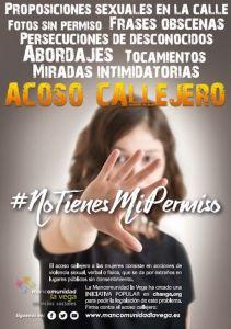 La Mancomunidad de la Vega lanza la campaña 'No tienes mi permiso' para frenar el acoso machista en las fiestas locales