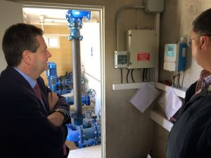 La Diputación invierte 48.800 euros en Benijófar para mejorar el servicio de agua potable