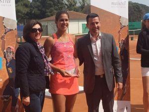 Eva Guerrero, campeona del ITF Sub-18 de Croacia y Vinaroz