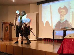 Alumnos de Almoradí descubren El Quijote