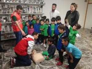 Jornada de hábitos saludables para alumnos de la Escuela Deportiva Municipal
