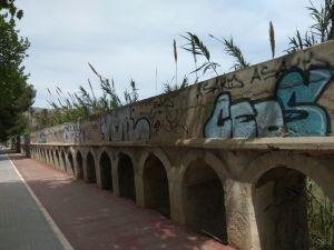 Orihuela pondrá en valor el acueducto de la acequia del Escorratel