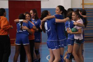 El infantil femenino del Mare Nostrum, en la final de la Copa España