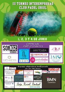 El Club Padel Oriol acoge la tercera edición del Interempresas