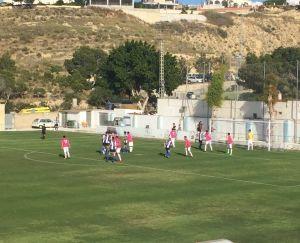 El CD Thader empata a uno contra el Paiporta CF en el primer partido del play off