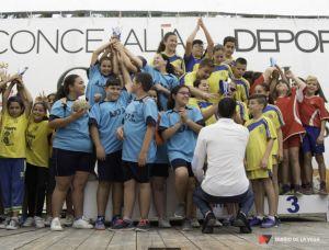 Clausura de las escuelas deportivas municipales de Orihuela