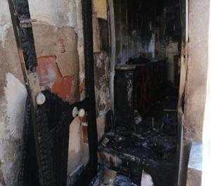 Herido leve un hombre en el incendio de una vivienda en Callosa
