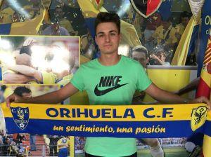 El Orihuela CF ficha al portero valenciano sub23 Aitor Arias