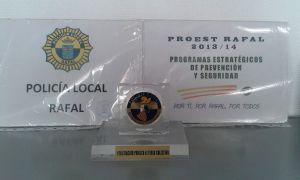 La Generalitat felicita a la Policía Local de Rafal por su labor en seguridad y prevención