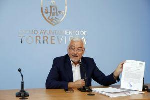 El alcalde de Torrevieja llama a la movilización para exigir el desdoblamiento de la N-332