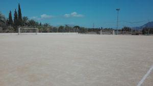 Comienzan las obras de remodelación del campo de fútbol de Jacarilla
