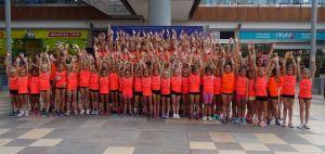 Más de un centenar de gimnastas participan en el X Campus de Verano Jennifer Colino