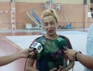 La gimnasta Carolina Pascual imparte un campus en las instalaciones deportivas de Bigastro