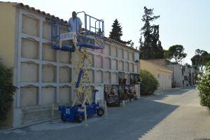 La Cooperativa Eléctrica dona un elevador de féretros al cementerio de Albatera