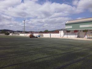 Rehabilitan el campo de fútbol de Bigastro tras las inundaciones del pasado invierno