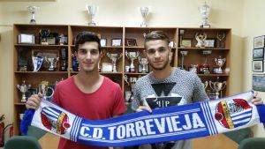 El CD Torrevieja renueva a Walid y Jorge Beltrán