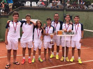 El Club de Tenis Torrevieja, tercero en el Campeonato de España Infantil por equipos