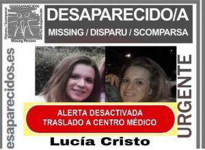 Encuentran con vida a Lucía Cristo, la joven de Granja desaparecida en Suiza