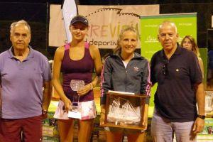 Carlos Cuenca y Daria Mishina, ganadores absolutos del Ciudad de Torrevieja de Tenis