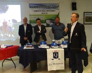 El Campeonato de Golf 'Virgen del Rosario' de Rafal homenajea póstumamente a Mariano Grau