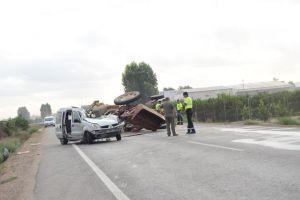 Una mujer fallecida y dos heridos en un accidente de tráfico en la CV-91