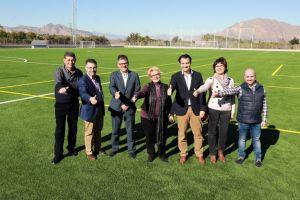 Jacarilla 'estrena' campo de fútbol