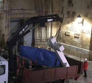 El TSCJV da vía libre al Ayuntamiento de Callosa para completar la retirada de la Cruz de los Caídos