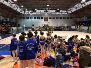 380 jóvenes gimnastas se dan cita en Orihuela