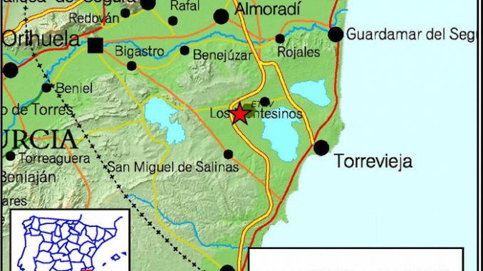 earthquake los montesinos