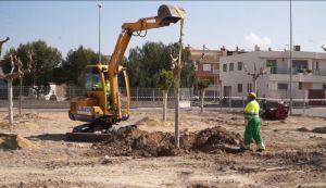 Granja de Rocamora estrenará cinco nuevas zonas verdes en abril