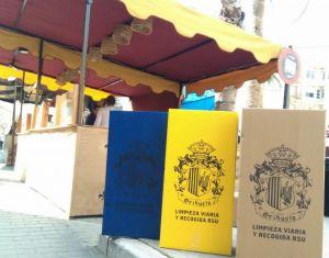 Orihuela intensifica la limpieza y recogida viaria durante el Mercado Medieval