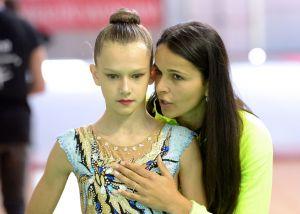 La gimnasta torrevejense Tatyana Shevchyk, bronce en el Campeonato España Base