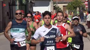 Espíritu deportivo y ambiente festivo en la Media Maratón de Granja de Rocamora