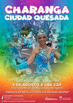 Cartel Charanga Ciudad Quesada 2018_300