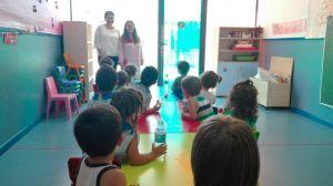 Más de un centenar de alumnos de 0 a 3 años han comenzado la Escuela de Verano en Orihuela