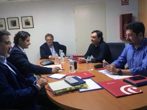 """Eduardo Dolón dice que la Diputación hará un """"esfuerzo presupuestario"""" para ayudar a Cámara Orihuela"""