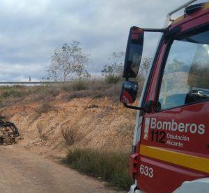 Fallece un hombre en accidente de tráfico en la AP-7 en Almoradí